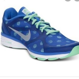 Nike Dual Fusion TR Training Polka Dot 10 Blue
